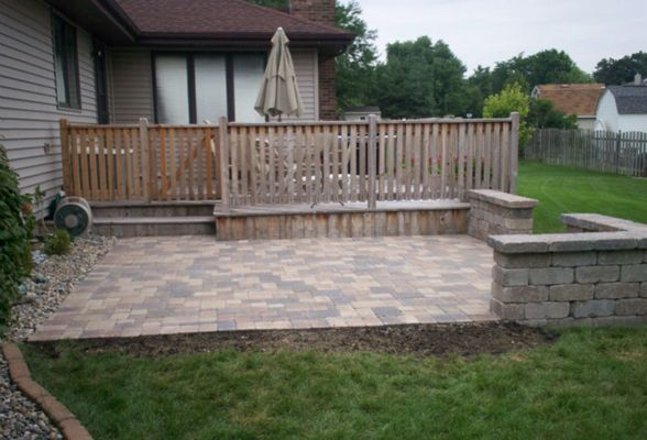 Expand your outdoor living space with quality installed brick patio